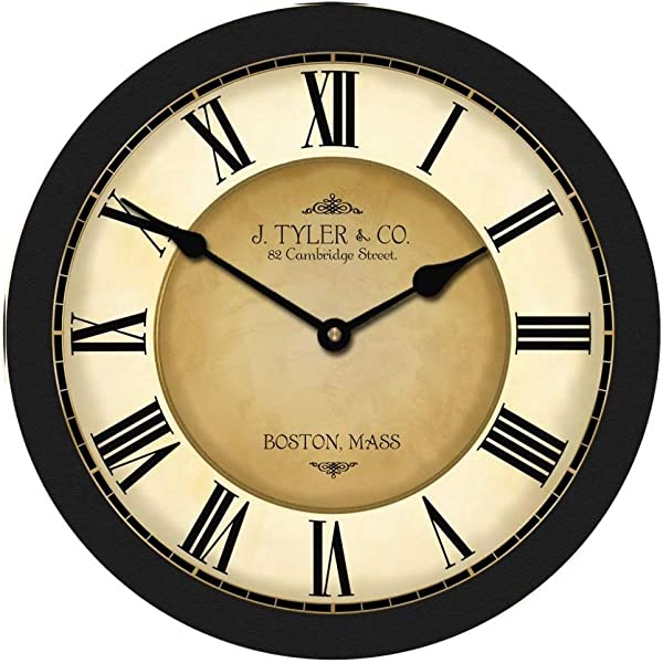 Galway Black Wall Clock Available In 8 Sizes Most Sizes Ship 2 3 Days