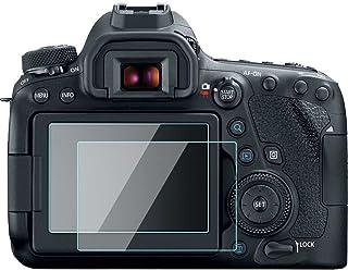 Canon EOS 6d Mark II/6dii/6D2Touch Protector de pantalla película cristal templado 033mm de espesor 9h dureza perfecta Funda para Canon EOS 6d Mark II/6dii/6D2Cámara Digital (2unidades)