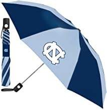NC NCAA North Carolina 42 Inch AUTOMATIC FOLDING UMBRELLA