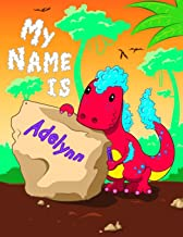 My Name is Adelynn: 2 Workbooks in 1! Personalized Primary Name and Letter Tracing Book for Kids Learning How to Write Their First Name and the ... for Children in Pre-k and Kindergarten