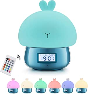 Christmas Gift for Children,GoLine Sleep Training Clock for Toddlers,Kids Alarm Clock Stay