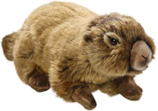 Carl Dick Marmot 10 inches, 25cm, Plush Toy, Soft Toy, Stuffed Animal 2616