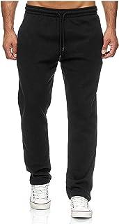 Zestion Pantalones de chándal para Hombre Pantalones de chándal Sueltos de Corte Recto Pantalones de Entrenamiento de Entr...