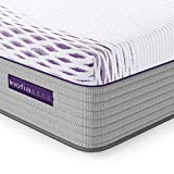 Inofia Full Mattress, 11 Inch Multi-Zoned Memory Foam and Innerspring Hybrid Mattress for Pressure Relief and...