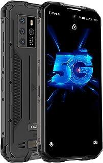 OUKITEL WP10 IP68+IP69K防水スマートフォン 8000mAh Android 10.0 5G アウトドアスマホ本体 SIMフリースマートフォン本体 8GB+128GB SONY48MP+13MP AIカメラ 携帯電話 防災用...