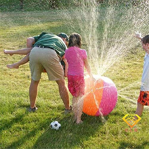 Secret night Aufblasbare Wasser-Spray-Ball-Sprinkler, Splash Kinder Strand Outdoor-Sommer-Spielzeug Sport Game Pool Spielbälle