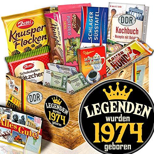 Legenden 1974 - Geburtstags Geschenk für Sie - Ossi Schokolade