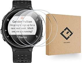 CENTAURUS Replacement for Garmin Forerunner 235 Glass Screen Protector-(3 Packs) Anti-Scratch Shatter Proof HD Hardness Smart Watch Tempered Glass Protective Film Garmin Forerunner 235 (41mm)