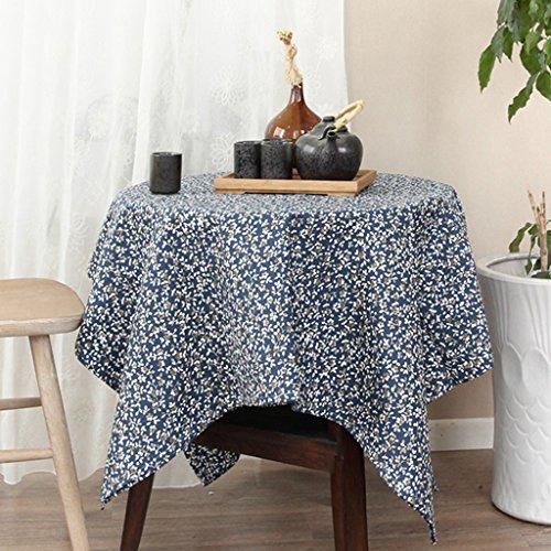 Petites nappes florales Nappes en tissu de table basse Style pastoral japonais (Size : 140 * 200cm)