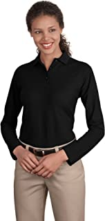 Best womens black long sleeve polo Reviews