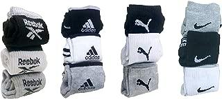 Aradhana Fashion Store Men's Cotton Ankle Length Socks Multicolor
