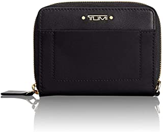 TUMI - Voyageur Tri-Fold Zip-Around Wallet - Compact Card Holder for Women - Black