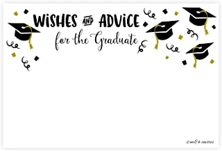 Graduation Wishes and Advice Cards (50 Count)