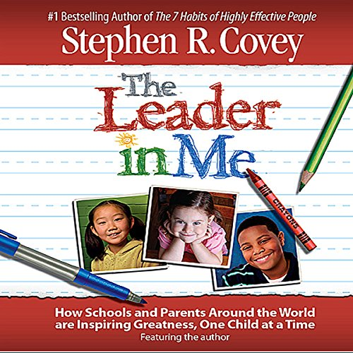 The Leader in Me audiobook cover art