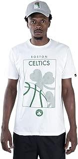 CAMISETA NBA BOSTON CELTICS ESSENTIALS SQUARE OFF WHITE OFF WHITE NEW ERA