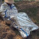 ENEM 2 x 1m Reusable Emergency Waterproof Thermal Insulation Camping Sleeping Bag-01