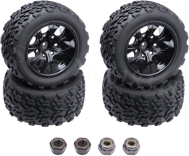 Generic 4Pcs Lot 2 2 inch RC 1 10 Truck Tires Wheels Rims