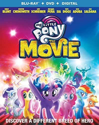 My Little Pony The Movie DVD Blu ray product image