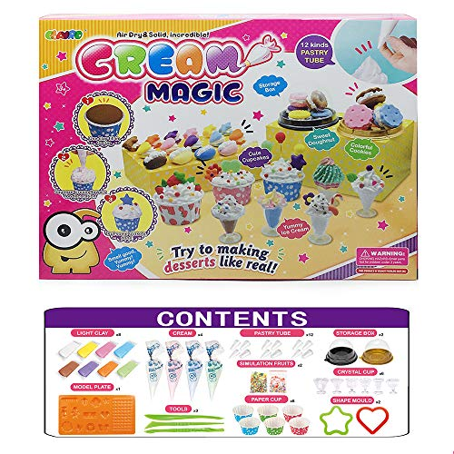 Children's Clay Crafts, Air Dry Magic Clay, DIY Imitation Cream Clay Kids Art Crafts