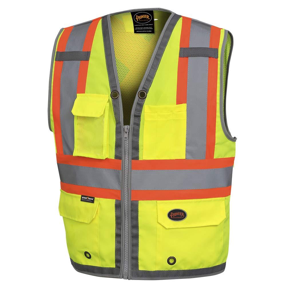 Pioneer Safety Long-awaited Vest for Men – Many popular brands Vis Neon Hi Cool Reflective