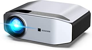 GooDee Portable Outdoor Movie Projector – Native 1080P Home Theater Video Projector, Full HD LCD 300 Inch, contrast 7000:1...