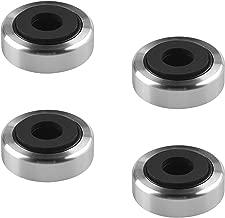 BLUECELL Pack of 4 pcs Aluminum Speaker Isolation Feet Pad for AMP Turntable HIFI Player