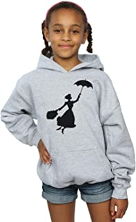 Disney Girls Mary Poppins Flying Silhouette Hoodie