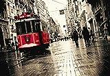 Taksim Istiklal Strasse (Caddesi), Istanbul Poster 70 x 100