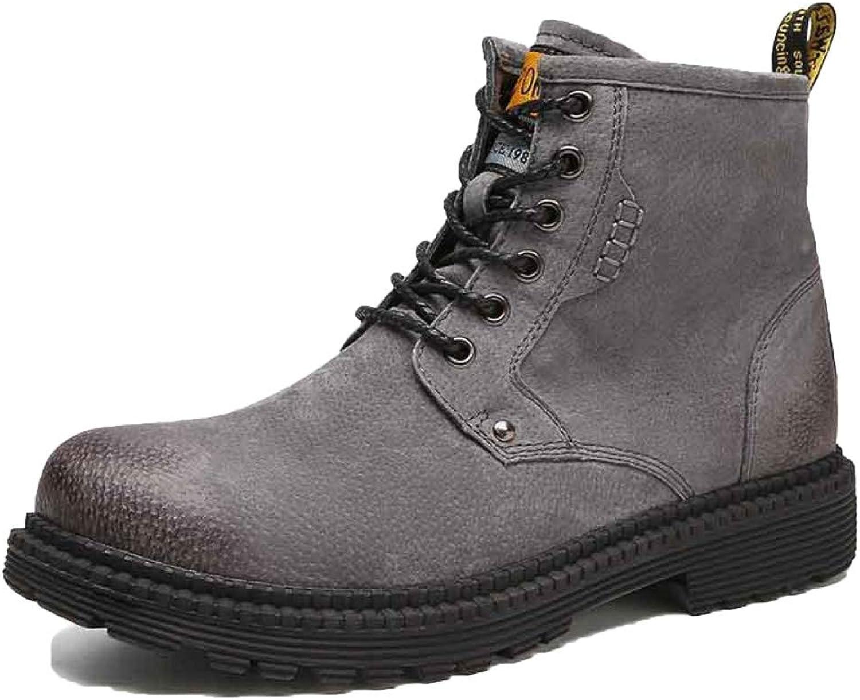 Men's Boots Work Boots Lightweight Waterproof Trainers shoes Martin Wear-resistant