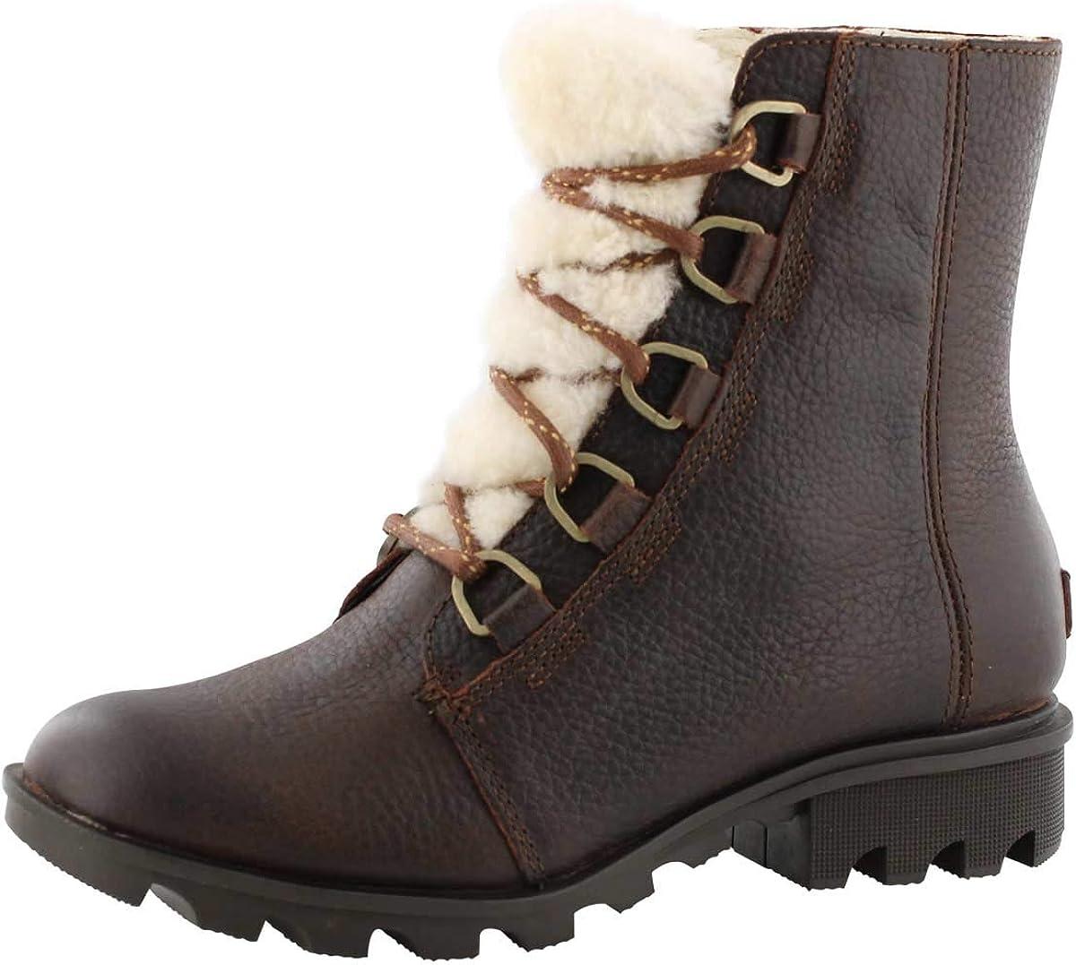 Sorel Womens Phoenix Short Lace Cozy Boot