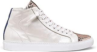 Women's Star2.0 Silver Metallic Leather Sneaker