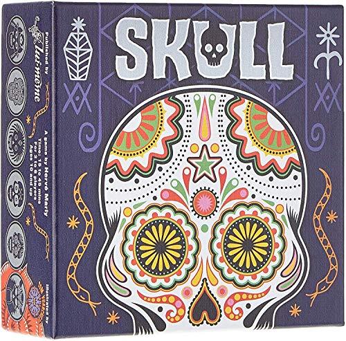 Unbekannt ASMSKR01N Skull Kartenspiel