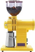Koffieboonmolen Verstelbare elektrische automatische koffieboonpoeder-slijpmachine, 200W, 15 kopjes, geel