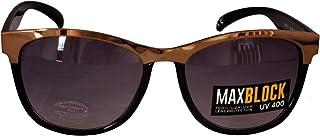 51b2ec7739 Foster Grant FG36 Gafas de sol de estilo Way Forma para mujer Black & Gold  Marco