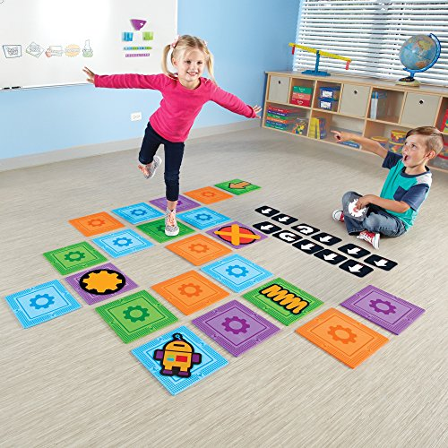 Learning Resources Let's Go Code! Activity Set, 50 Pieces, Ages 5+