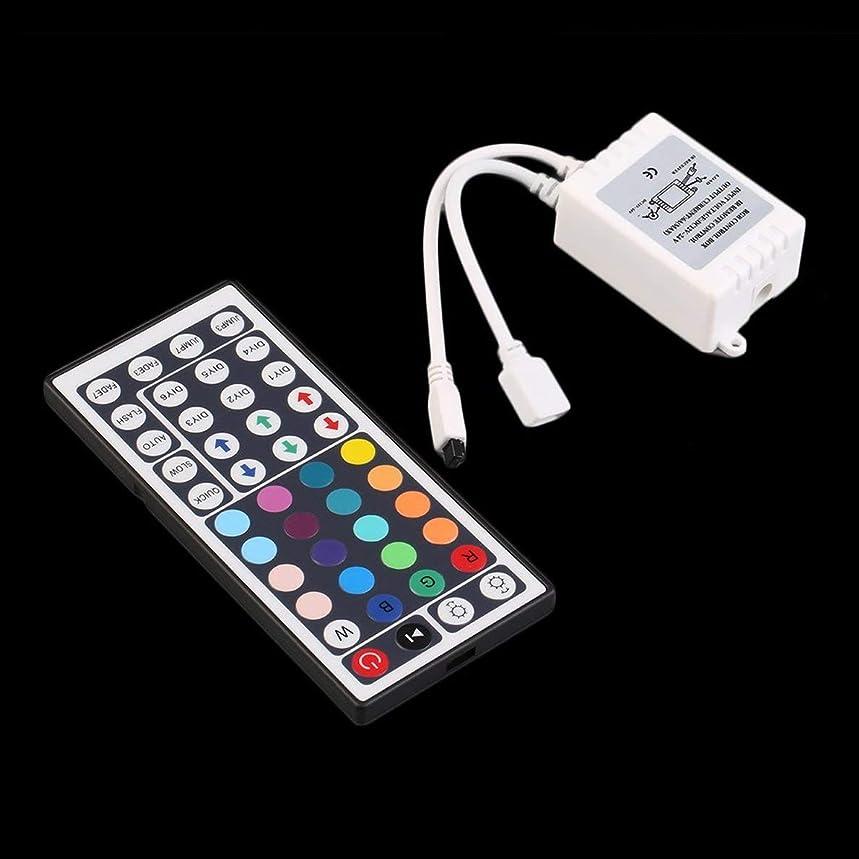 Uqiangbao 44 Key Control Box+IR Infrared Remote Controller Transmitter Set for LED RGB 5050/3528 Light Strip DC12V