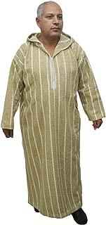 Taille 58 riches épais en coton doux Marocaine à capuche Thobe//Compagnie//djelleba.