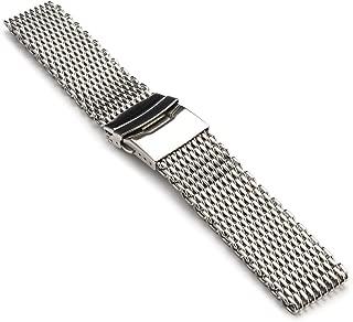 StrapsCo Shark Mesh Milanese Watch Band