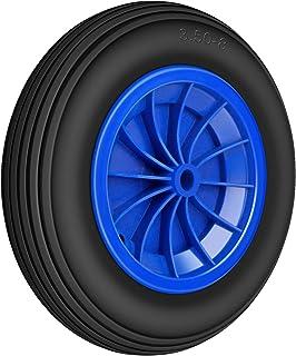 Forever Speed Kruiwagenbanden, kruiwagenwiel, massief rubber, 3,50-8, lekvrij, steekwagenwiel, banden, kruiwagen, steekwag...