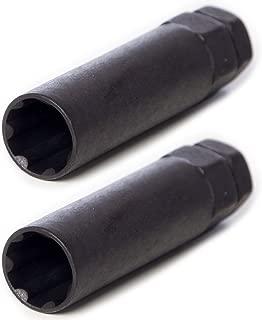 Circuit Performance Large Black 7 Point Standard Spline Tool Key (2 Tools)