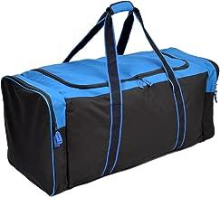 Jetstream 36 Inch 3-Pocket Hockey Equipment Duffle Bag (Blue)