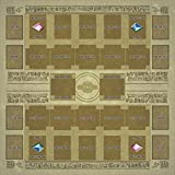 TOY-GTO Yu-gi-oh Card Rubber Play Mat Egypt Mural Style Type (for Competition) 60 × 60 cm Size 2mm Link Summon Correspondence Extra Monster Zone