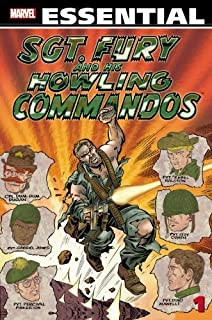 Essential Sgt. Fury Vol.1 (Essential (Marvel Comics)) by Stan Lee, Jack Kirby (2011) Paperback