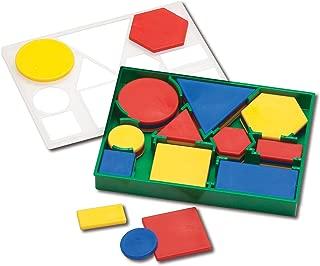 edx education Deluxe Attribute Blocks - Plastic - Set of 60