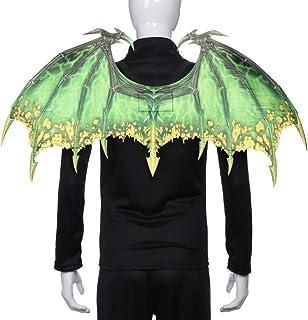 PRETYZOOM Dragon Wings Cosplay Wings Devil Wings Wicked Wings Devil Costume for Halloween Devil Cosplay Accessories (Red)