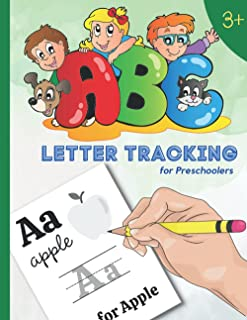 ABC Letter tracking for preschoolers: A,B,C Letter Tracing Book, Practice For Kids and toddlers Ages 3-9 | Kindergarten Le...