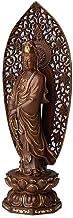 Home Accessories Buddha Statue, Bodhisattva Buddha Blessing Meditating Peace Harmony Statue Bronze Buddhist Worship Sculpture