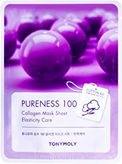 Tony Moly Pureness 100 Face Mask Sheet, Collagen