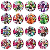 SIYI shop amiibo cards NFC Game Cards for Splatoon 2 Nintendo Switch 16pcs with Cards Holder