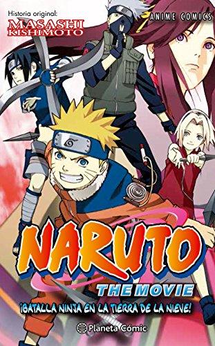 Naruto Anime Comic nº 02 ¡Batalla ninja en la tierra de la nieve! (Manga Shonen)
